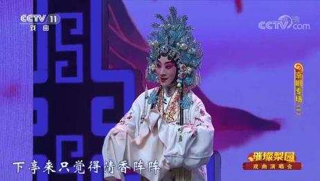 京剧名家李海燕,现场京剧《梅妃》选段,这身范太美了吧