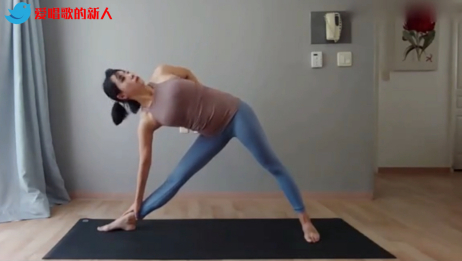 最值得一练的瑜伽体式!燃脂排毒效果极佳,摆脱大象腿和多余赘肉