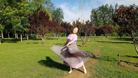 优美流畅简单大方的中三步舞《雪绒花》你一学就会