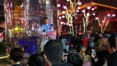 带大家看看大唐不夜城,网红步行街,感受下大唐长安城的盛世繁华