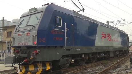 中国铁路:和谐电3C、和谐电1D,电力机车起机声!原声声控系列!