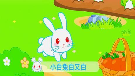 起司公主儿歌:小白兔白又白,两只耳朵竖起来,爱吃萝卜爱吃菜!