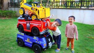 枫枫的汪汪队立大功玩具车被变小了