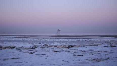 冬日的海边 秦皇岛北戴河之旅