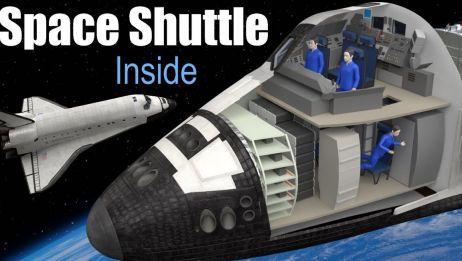 高精度3D动画演示航天飞机的工作原理