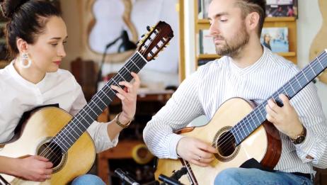 古典吉他二重奏披头士经典作品《山上的傻瓜》
