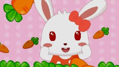 兔小贝儿歌:小白兔白又白,两只耳朵竖起来