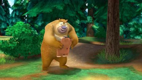 熊出没:森林突现呼唤声,原来是呆呆熊,熊二终于找到了同类