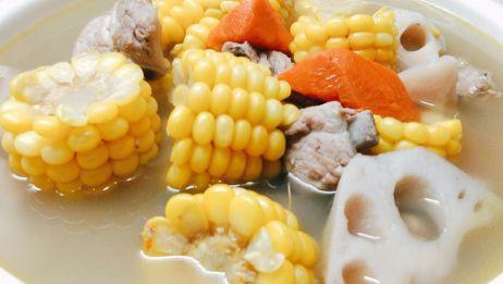 喝了半辈子玉米排骨汤才知道这样做汤鲜肉嫩,原来秘诀在这里