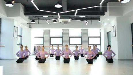 少儿舞蹈基本功一级03:手位脚位练习