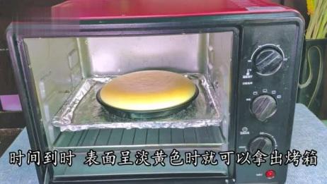 嫩黄酥软入口即化半熟芝士蛋糕好吃有诀窍