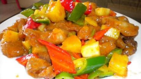 连老外都赞不绝口的中国菜, 酸甜可口菠萝咕噜肉做法简单味道独特