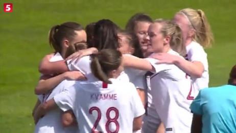 阿尔加夫杯:女足13挪威,王珊珊终场进球挽回颜面,王霜错失空门