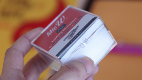果粉录音师的最爱,Lightning闪电接口数字测量测试麦克风来袭