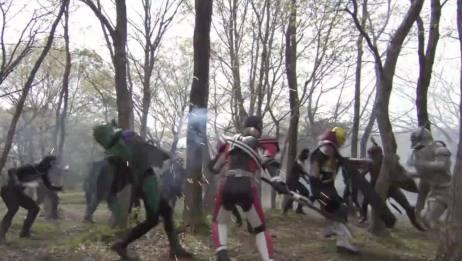 《假面骑士Decade剧场版》帝骑与Diend联手,大战杰克将军!