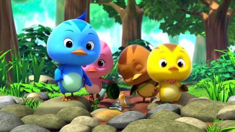 萌鸡小学堂:小泥鳅被困在路上,别急,大宇哥哥帮你回家