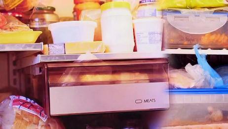 冰箱不是保险箱,所以如何摆放食物避免交叉感染,就很重要了