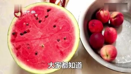 吃完桃子能吃西瓜吗