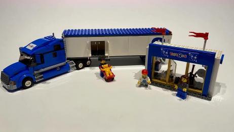 乐高积木:乐高城玩具反斗城卡车,速度建设