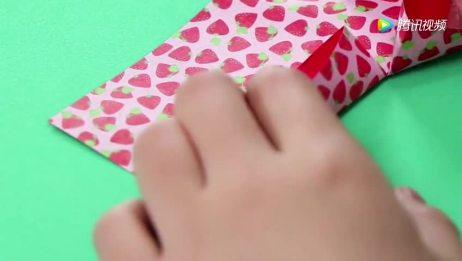《小伶玩具》小怜姐姐教你漂亮又可爱的手工折纸桃心,一起学起来吧
