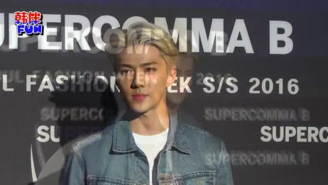 EXO成员世勋将出演中韩电影《我爱喵星人》搭档吴倩 160314