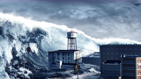 海啸原来是这么形成的,威力如此巨大,看完感觉后背一凉