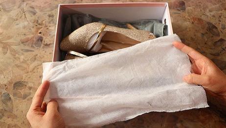 鞋盒里的白布袋切记别扔掉,厉害又省钱,快回家找找