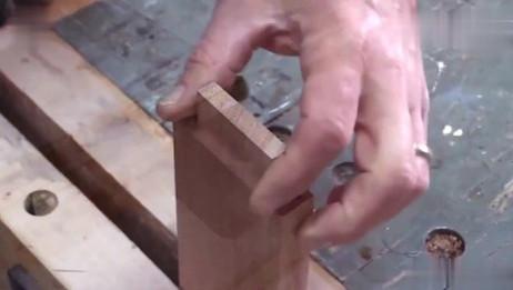 老外打造的榫卯结构,固定后连接缝都看不到