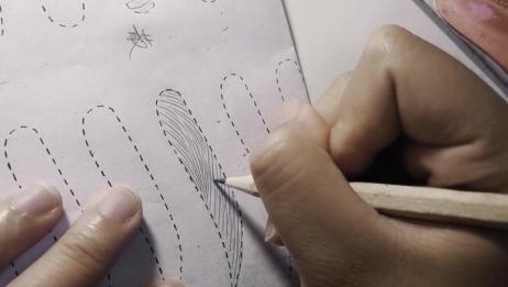 手把手教你画线条眉之如何加密线条!