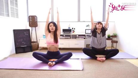 美女老师教你做瑜伽, 简单易学练出好身材_高清