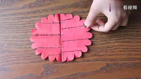 手工折纸DIY,教你制作漂亮的花卉,太有创意了!