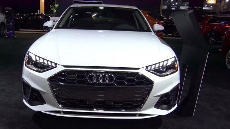 新车展示,高清实拍2020款奥迪A4 45TFSI,简直太帅了!