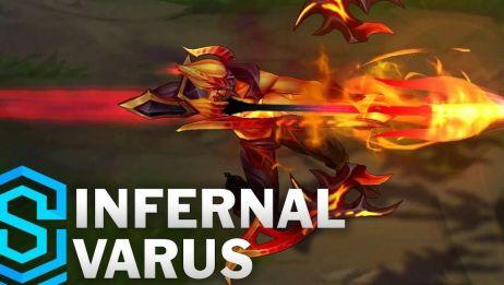 【地狱火系列皮肤 ( Infernal )】 《英雄联盟》 新皮肤预告视频 合集
