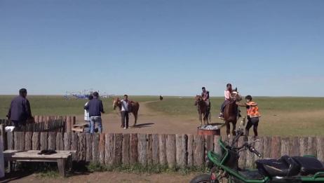 内蒙古 呼伦贝尔 大草原骑马 27.8.2018  (720p)