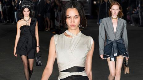 2018春夏纽约时装周:Alexander Wang 硬朗霸气回归