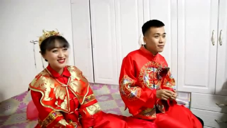 福建一小伙结婚,新娘子好漂亮,忍不住看了一遍又一遍