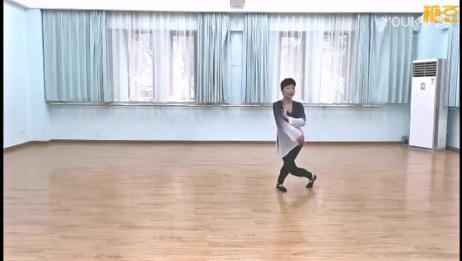 筱敏古典舞《月满西楼》正面背面教学