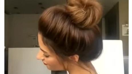 超流行好看的各种丸子头发扎法,喜欢丸子头发的MM千万别错过
