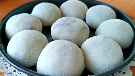 糯米粉不做汤圆,教你新吃法,比汤圆简单,比麻团香,出锅就扫光