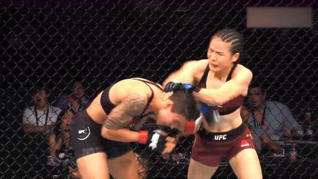重拳打出中国力量!42秒的荡气回肠,重温张伟丽的热血冠军战!