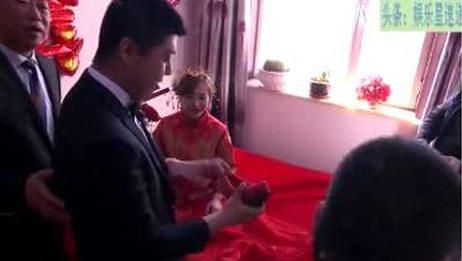 真实婚礼,伴郎真是新郎的铁哥们,新郎有这样的哥们这辈子值了