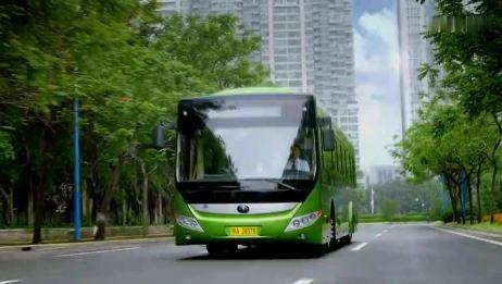 宇通新能源公交车公益广告