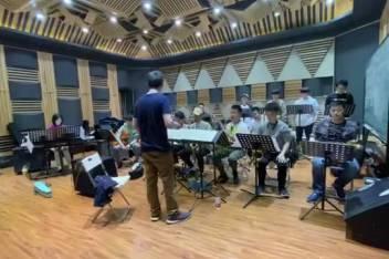 北京现代音乐学院 北音爵士大乐队的日常--玩儿个电的选曲《巴西之恋》@北京现代音乐研修学院