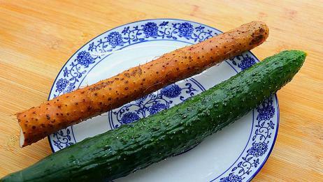 一根山药,一根黄瓜,简单一做,我家一周吃5次,老人小孩都爱吃