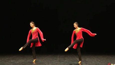 (1230)北舞中国汉唐古典舞教学示范表演一【大舞姿综合运用组合一】