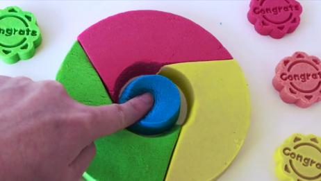 捏一个开关按钮,只需要两分钟,小家伙喜欢玩,手工彩泥制作
