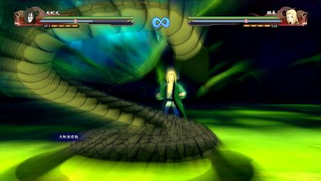 火影忍者究极风暴4:为了强大而魔改身体的男人,木叶三忍大蛇丸