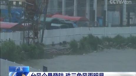 [新闻直播间]广东 台风今晨登陆 珠三角风雨明显