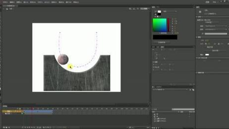 【DreamITV原创教学】Animate CC小球弧线