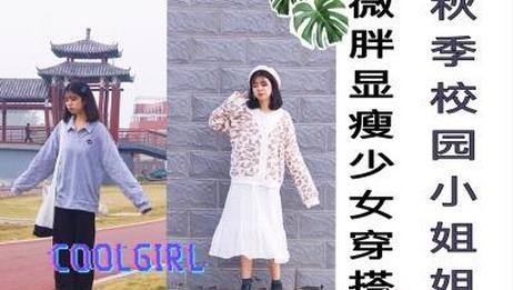 微胖少女 秋季穿搭|显瘦 平价|内搭|温柔